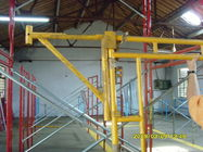 Trung Quốc Heavy Duty Scaffolding Frames With Powder Coated Side Brackets 1524x1524xΦ42x2.3mm Công ty