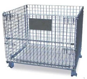 Trung Quốc 1188L 4 Sided Grocery Store / Retail Shop Equipment / Wire Mesh Container nhà máy sản xuất