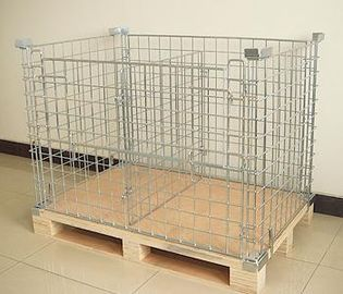 Trung Quốc Steel Zinc Plated With Clear Laquer Retail Shop Equipment Storage Cages For Supermarket nhà máy sản xuất